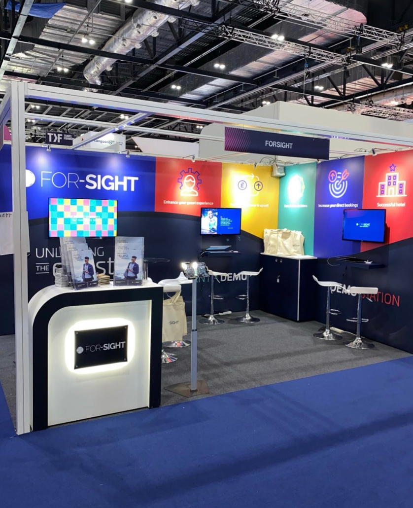 Established For-Sight as a leader in hospitality CRM at two global trade shows