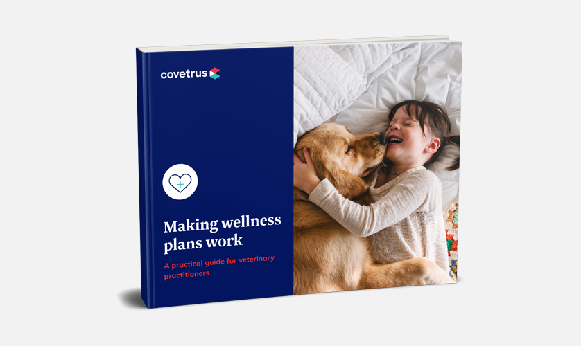 Supported Covetrus by Creating Material to Bring Their Wellness Plans Campaign to Life